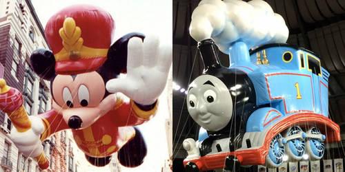 Mickey and Thomas Balloons