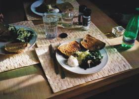 British breakfast by CocoCibelle