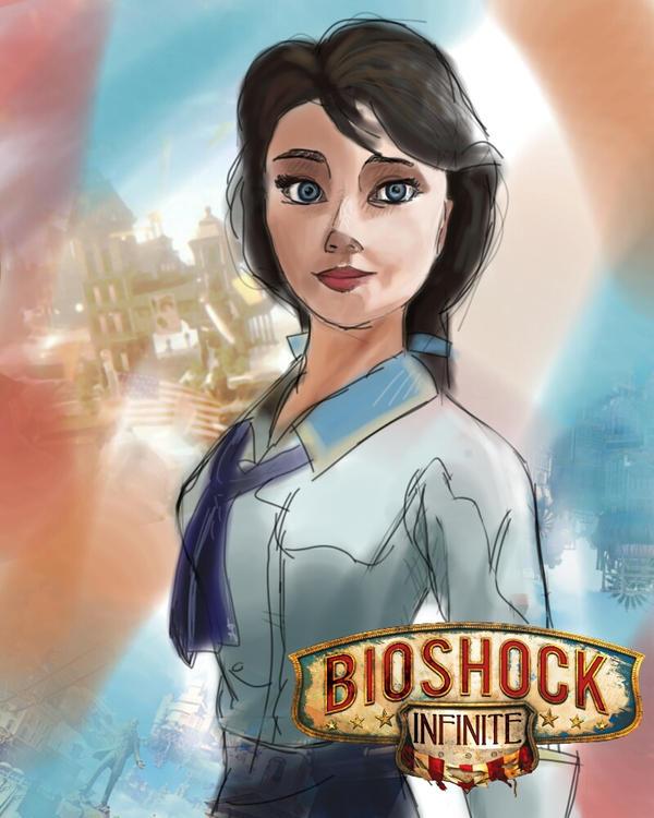 Bioshock Infinite Elizabeth by lucentfong