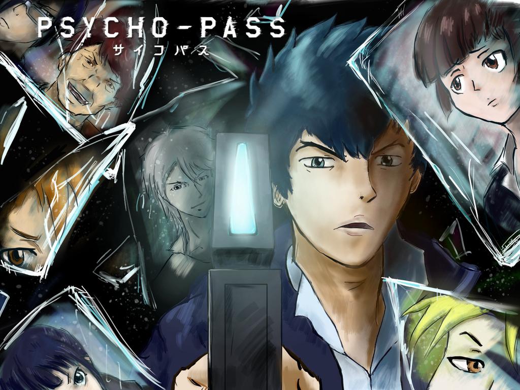 PsychoPass by lucentfong