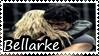 Bellarke stamp by The-Trash-Princesses
