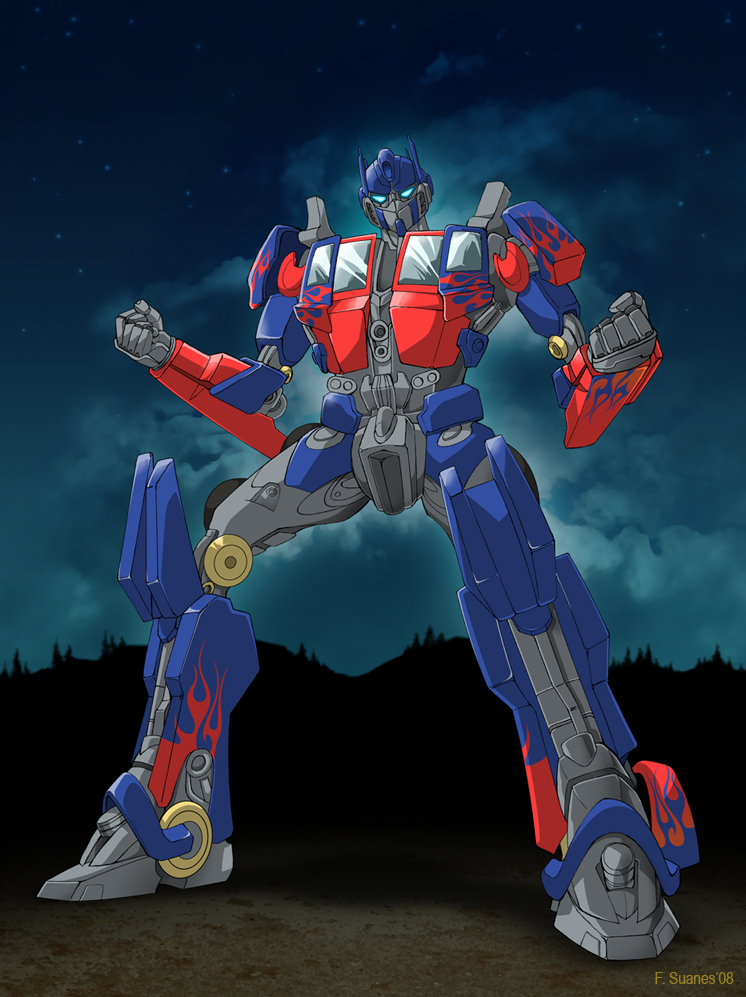 Movie Optimus Prime by BodoKing