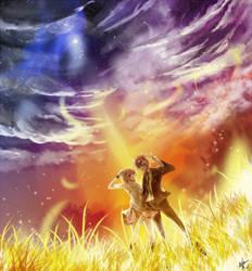 Fairy Tail - Loki X Lucy by achibahk