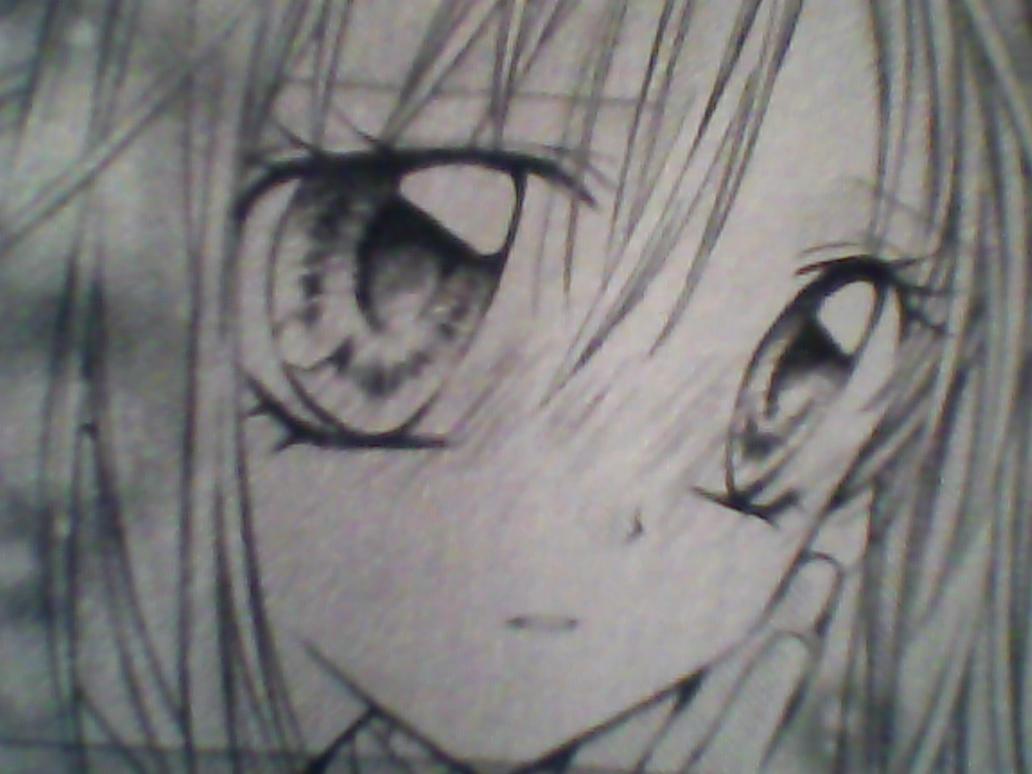 Sad Manga Girl by Saraismus on DeviantArt