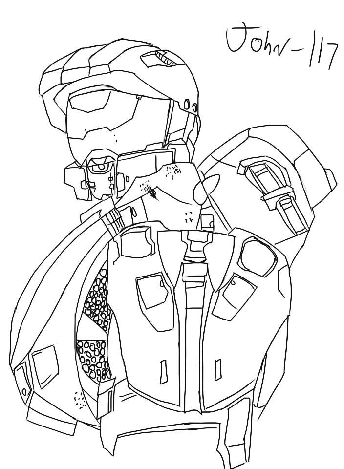 John-117 *Updated* by beautyamber12