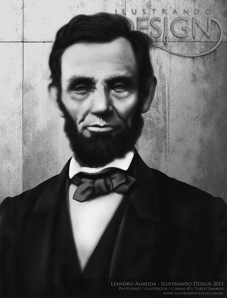 Abraham Lincoln by IlustrandoDesignBR