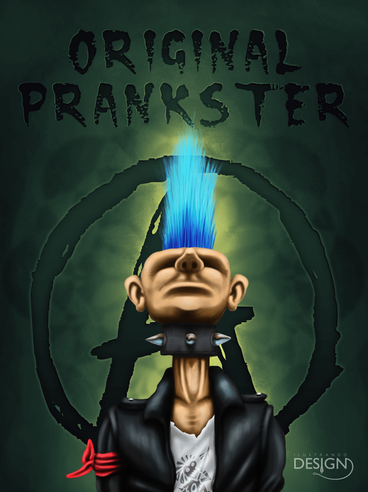 Punk by IlustrandoDesignBR