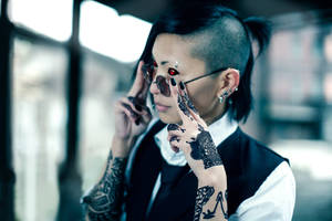 cosplay. Tokyo Ghoul - Uta by kmitenkova