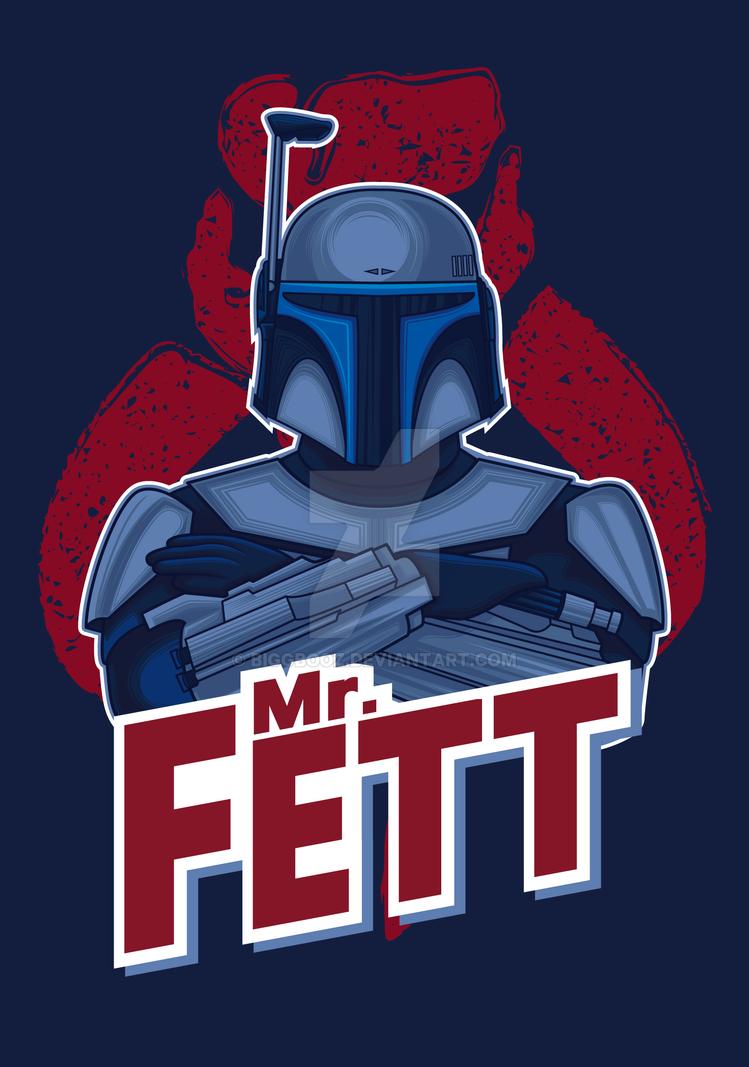 Mr. Fett by biggbooz