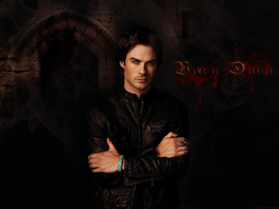 Damon Salvatore by angie-sg