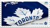 Toronto Maple Leafs Stamp by NorthernWaves
