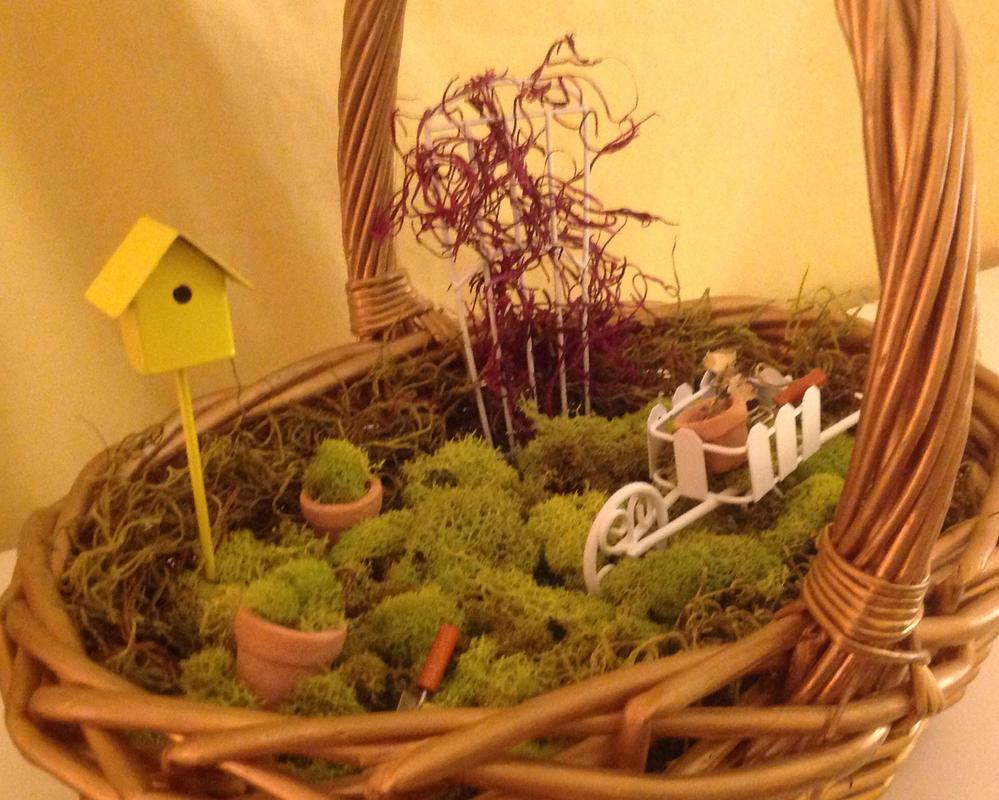 My little fairy garden. by Buttercream13 on DeviantArt