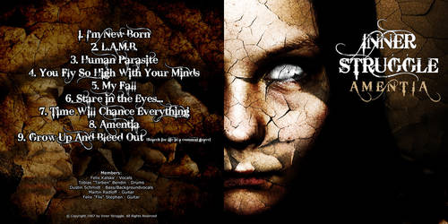 Inner Struggle -  CD Artwork by NTSdesign