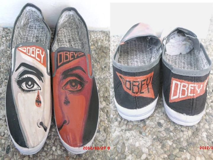 Obey shoes by starberry-channie on DeviantArt