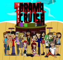 Total Drama Cruise - Group Photo. by gus-val