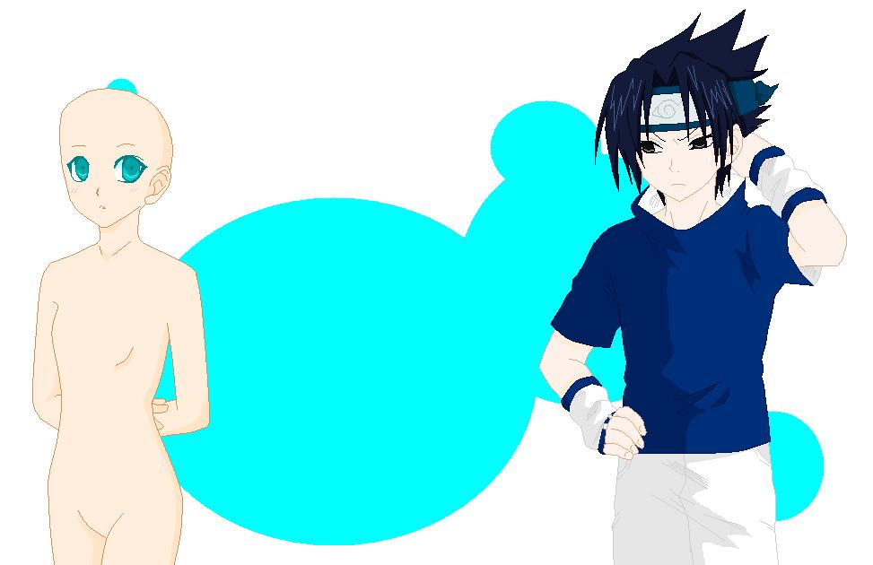 Base 18: sasuke x OC by Pixel--Twins on DeviantArt