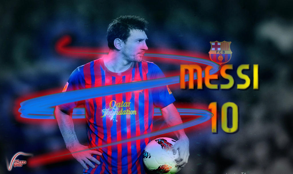 Messi 10 by DaanParts