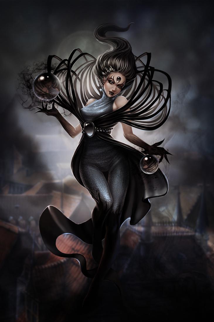 Dark Lunar Witch by Efirka