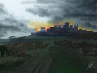 Winterfell by digitalArtistYork