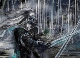 White Walker Game of Thrones by digitalArtistYork