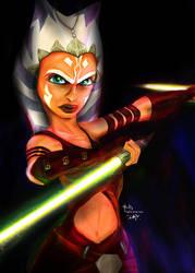 Star Wars Ahsoka by digitalArtistYork