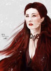 Game of Thrones Melisandre by digitalArtistYork
