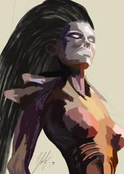 WIP Starcraft Queen of Blades by digitalArtistYork