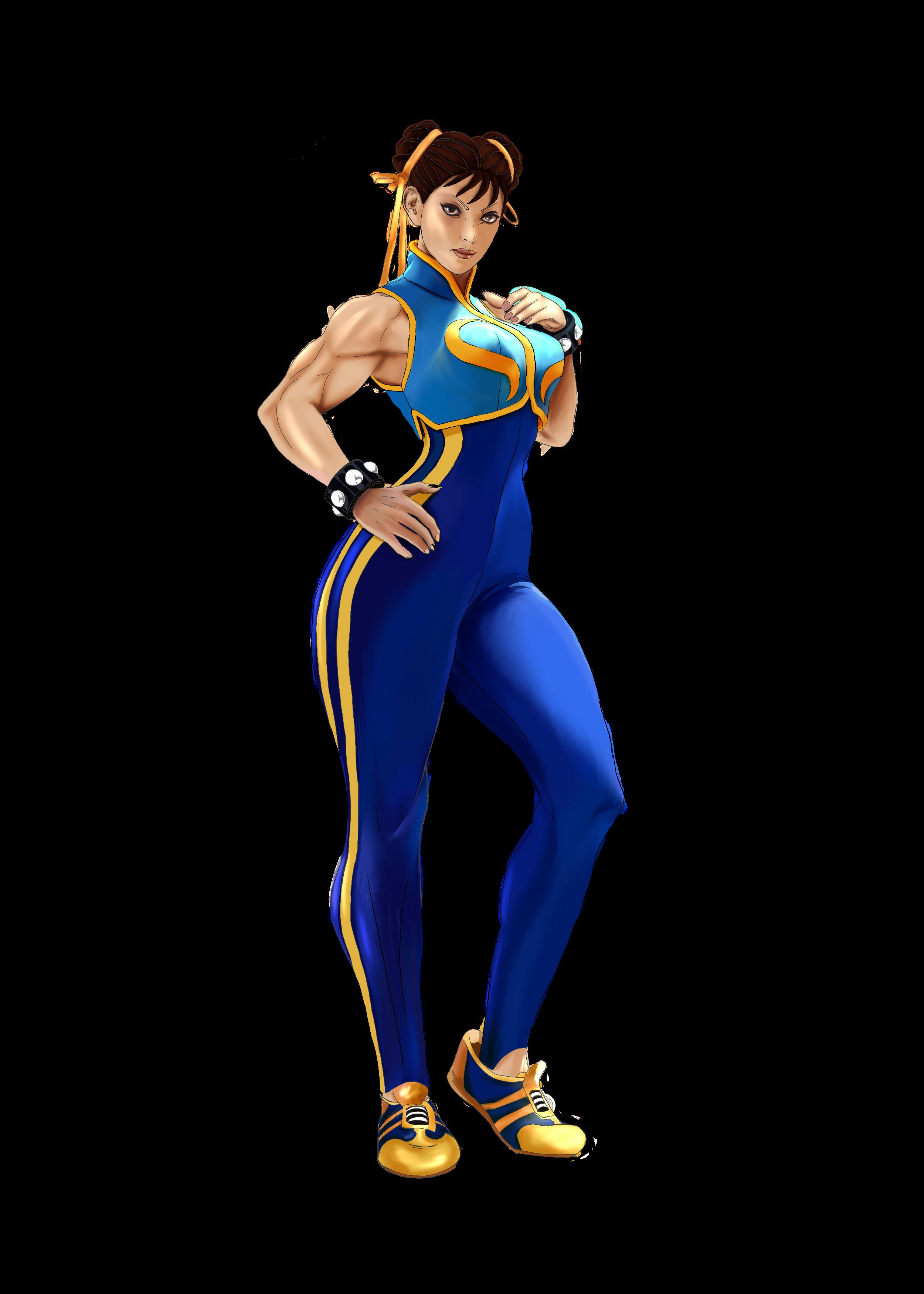 li cosplay Chun alpha