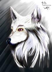 Ghost illustration by digitalArtistYork