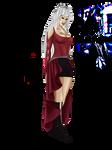 Elle character - Black Eclipse - Sketch 1 by digitalArtistYork