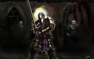 Crusader Darkest Dungeon by BitSweet