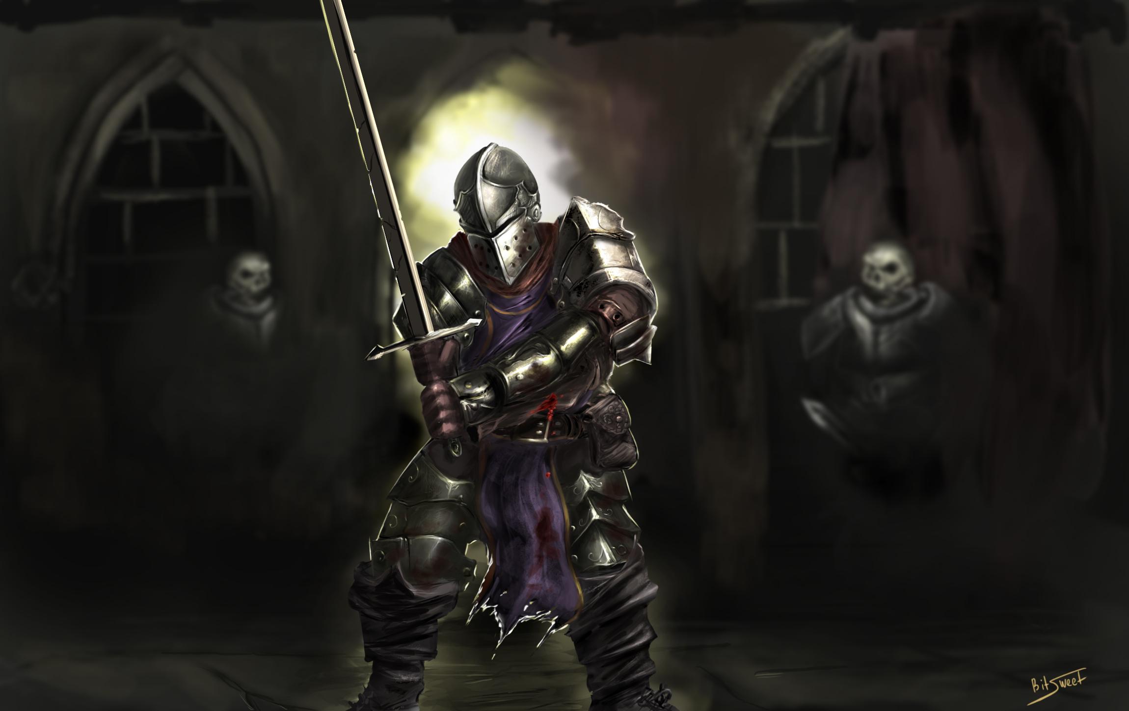 Crusader darkest dungeon by bitsweet d9esgfe