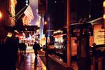 rainy city nights