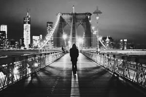 brooklyn bridge by auroille