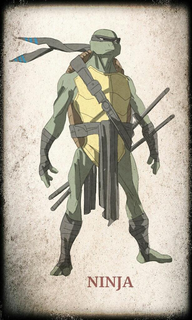 TMNT Leonardo by devilmonkey77