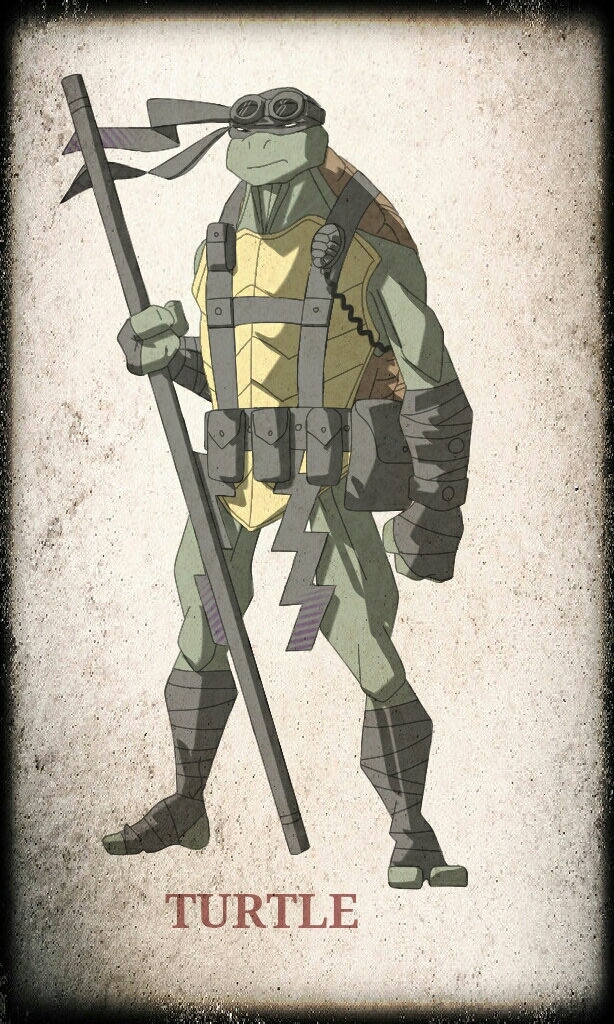 TMNT Donatello by devilmonkey77
