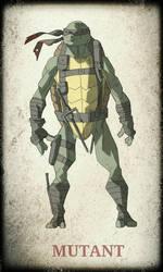 TMNT Raphael by devilmonkey77