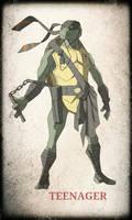 TMNT Michelangelo by devilmonkey77