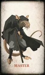 TMNT Splinter by devilmonkey77