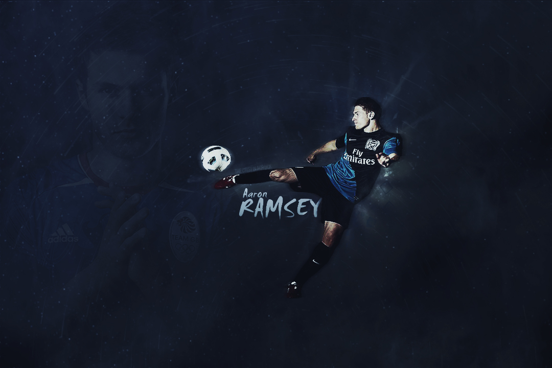 Wallpaper Aaron Ramsey Arsenal Player by TheCristinaChuck ...