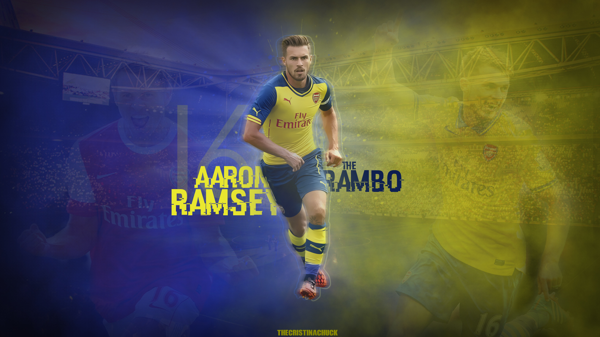 Wallpaper Aaron Ramsey ARSENAL FC by TheCristinaChuck on ...