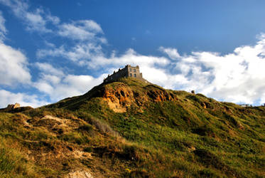 Scarborough Castles by daliscar