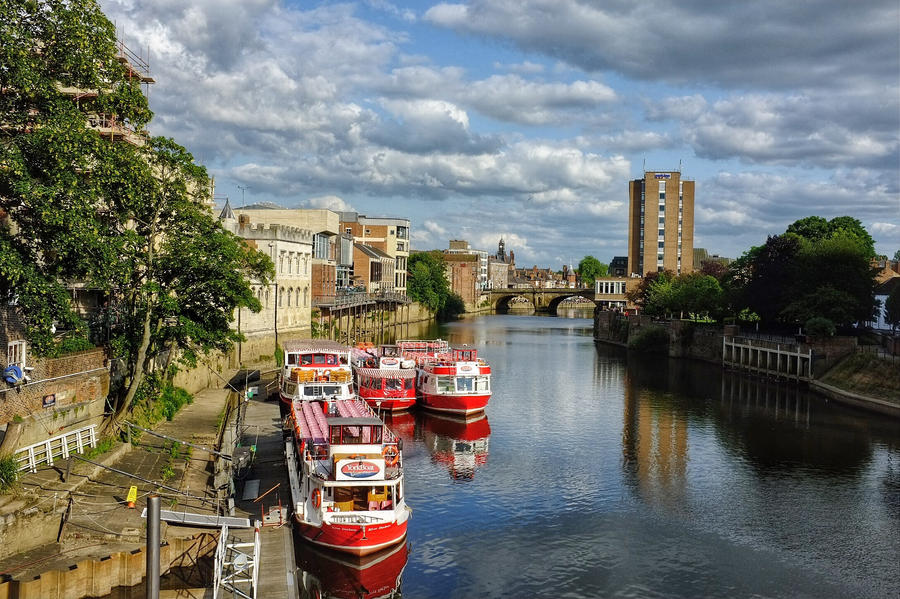 River Ouse York UK by daliscar