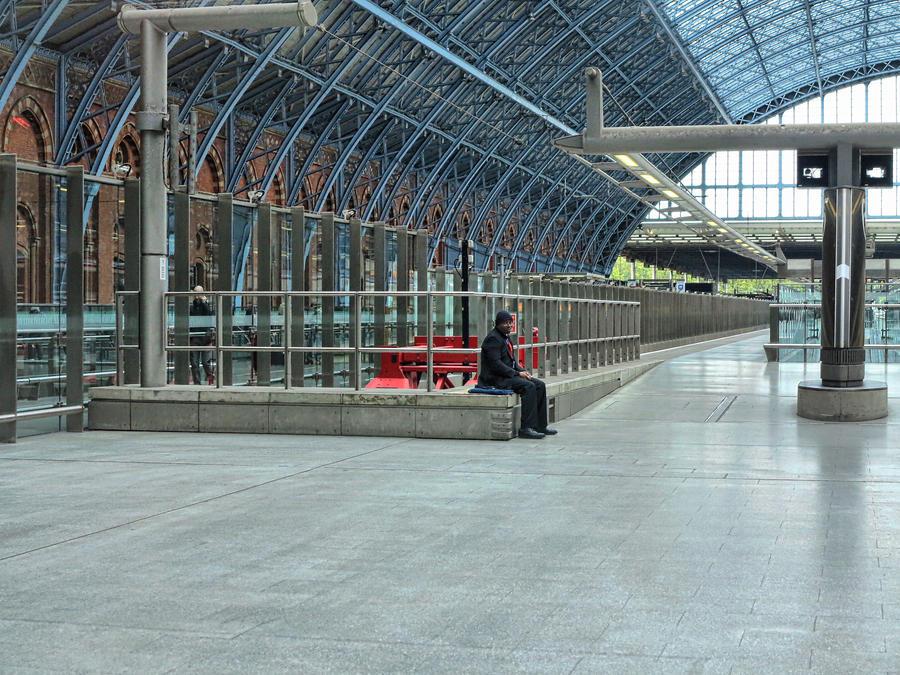 Last man on the platform by daliscar