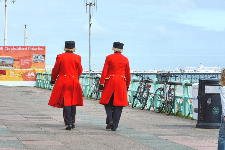 Red coats by daliscar