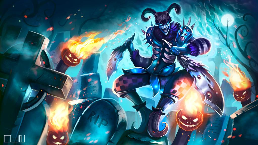 Shaco from League of Legends by YukiBittencourt on DeviantArt
