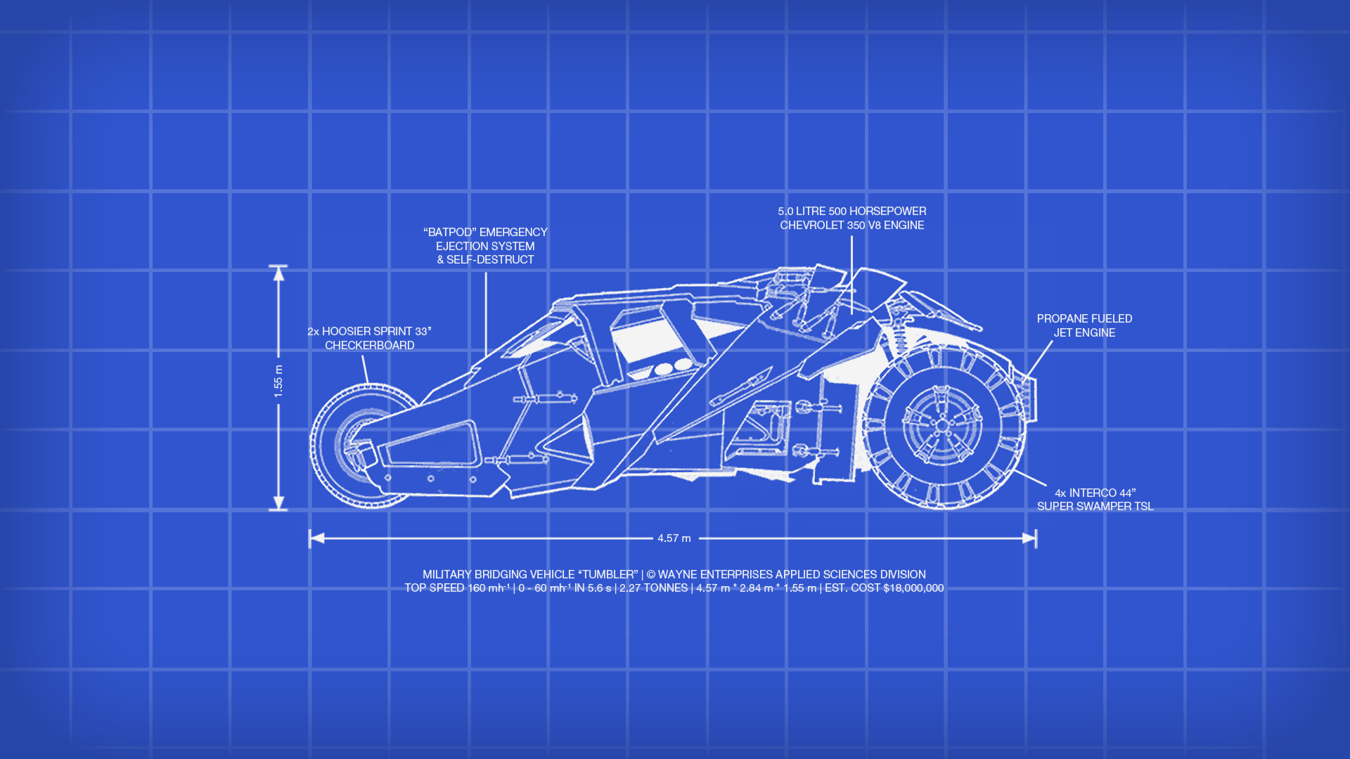 Batman tumbler blueprint wallpaper by snowleppard on for Where to print blueprints