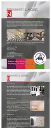 JNorg Brochure Print design by cfdesign