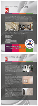 JNorg Brochure Print design