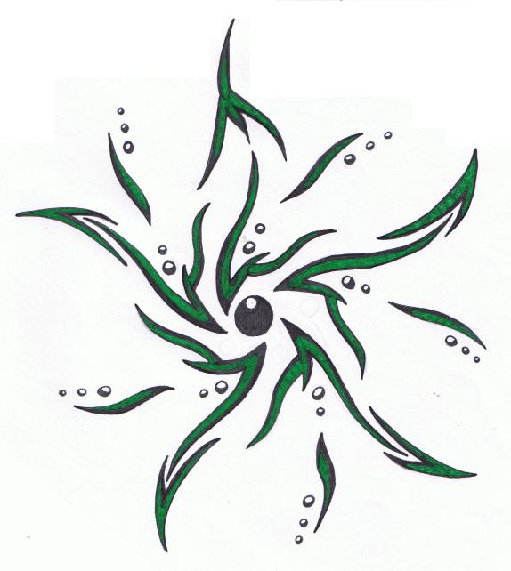 tribal seaweed 02 by karianasan on deviantart. Black Bedroom Furniture Sets. Home Design Ideas